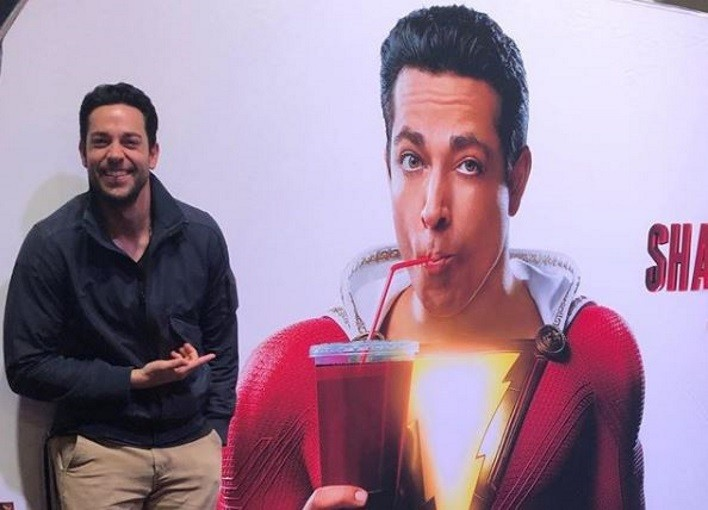 First Official Look at Levi as Shazam...Kinda
